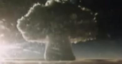 Wybuch bomby atomowej Car - największa eksplozja w historii ludzkości