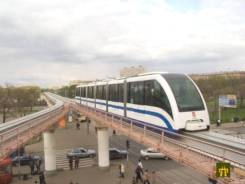Monorail w Rosji (Moskwa)
