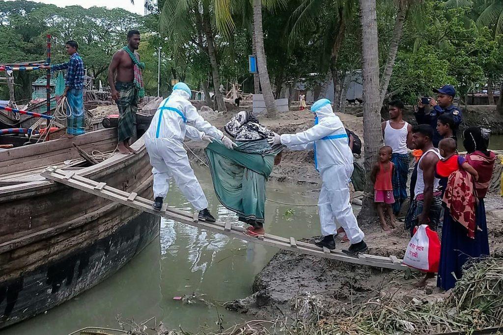 Cyklon Amphan i ewakucja w Bangladeszu