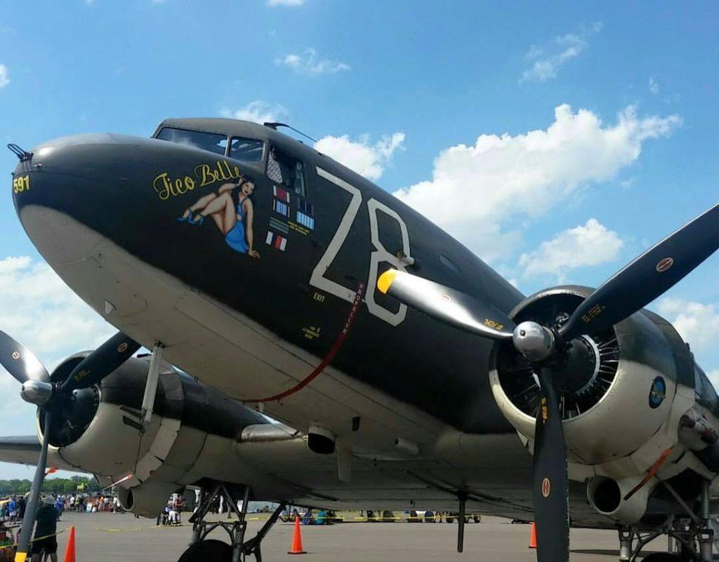 Samolot C-47 Skytrain i historia D-Day