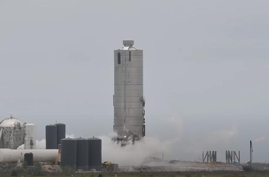 Test rakiety Starship
