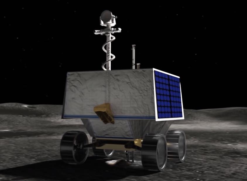 Kosmiczny łazik Viper i badania zasobów Księżyca