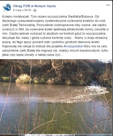Zanieczyszczenie wód w Polsce