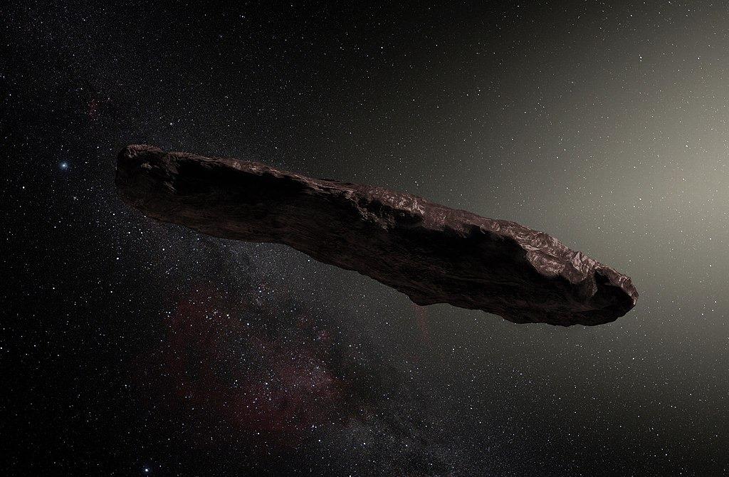 Oumuamua - nowe odkrycie i informacje