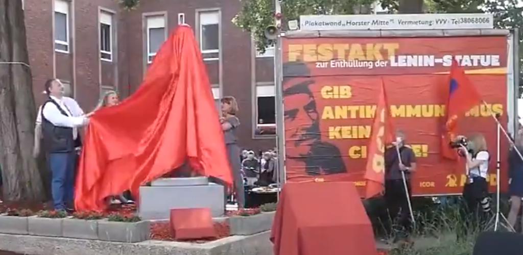 Pomnik Lenina w Niemczech - lewicowa partia zapowiada rewolucję