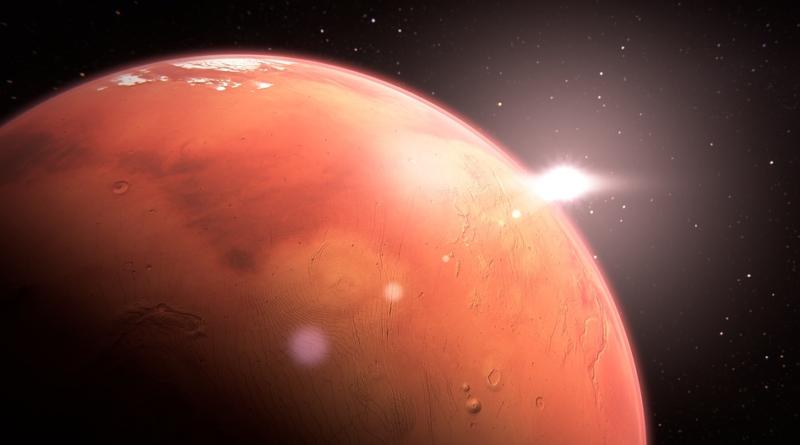 Życie na Marsie - podziemne jeziora pod powierzchnią Czerwonej Planety to żywa historia Marsa?