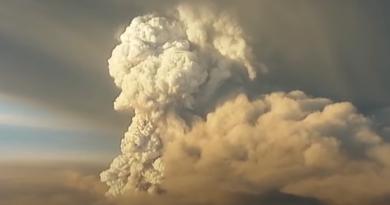 Wulkan Grímsvötn i erupcja w 2011 roku