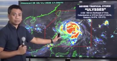Filipiny i tajfun Ulysses - trwa ewakuacja, ale problemem staje się koronawirus