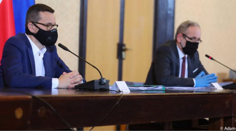 Konferencja premiera - nowe obostrzenia i przepisy