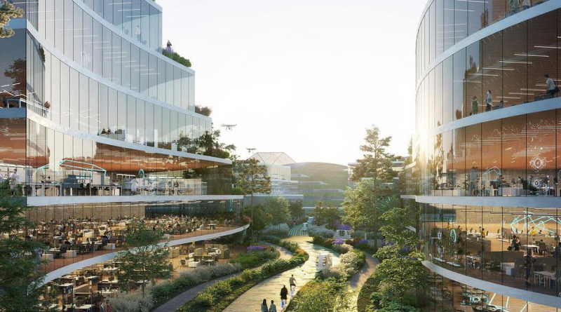 Chiny budują miasto przyszłości. Chengdu Future Science and Technology City i niezwykły projekt miasta
