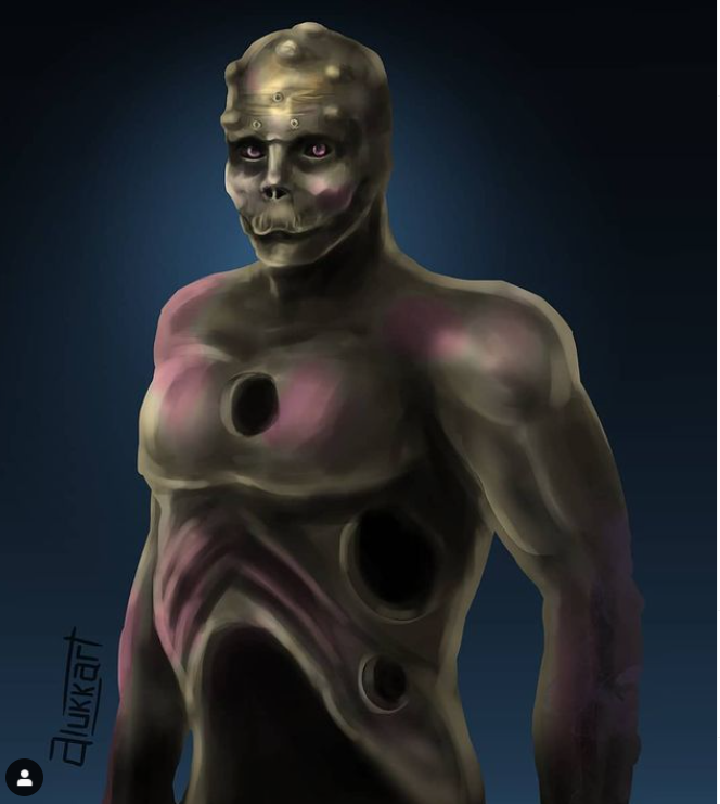 Anthony Loffredo drastycznie zmienił swój wygląd i przyjął pseudonim Black Alien. Tak chce wyglądać w przyszłości