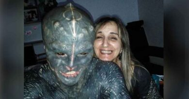 Anthony Loffredo uwielbia ekstremalne modyfikacje ciała. Oto Black Alien