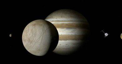 Naukowiec opisuje jak mogą wyglądać kosmici żyjący na księżycu Jowisza. Jakie formy życia skrywa Europa?