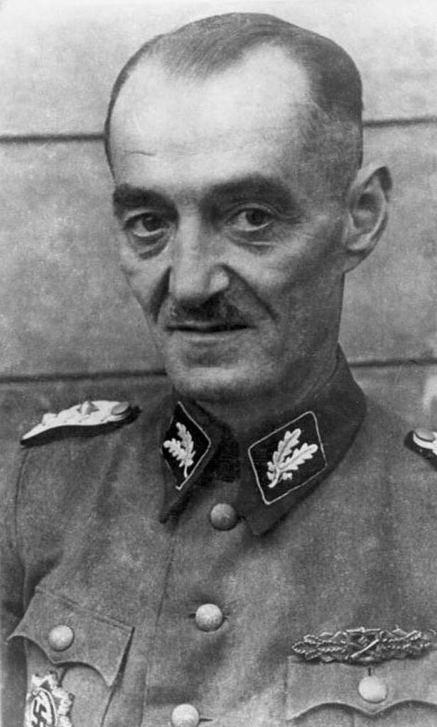 Oskar Dirlewanger brutalnie tłumił Powstanie Warszawskie i odpowiada za makabryczne zbrodnie